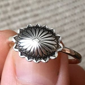Jewelry - handmade southwest sterling silver concho ring 🌵